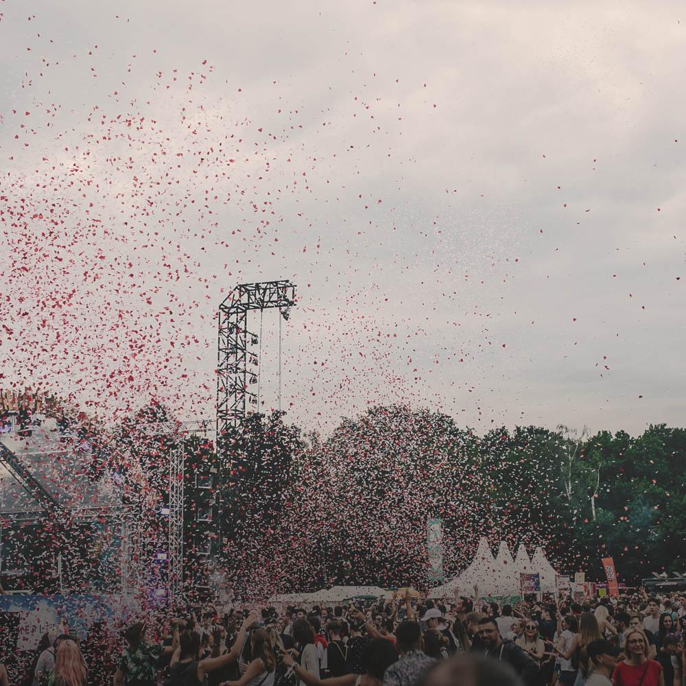 Klangkarussell auf dem Sommerliebe Festival 2020